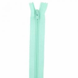 Fermeture 18cm vert ecume