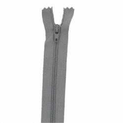 Fermeture 18cm gris foncé