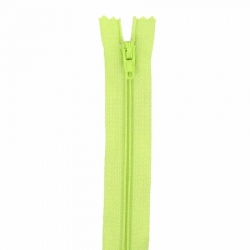 Fermeture 18cm sping green