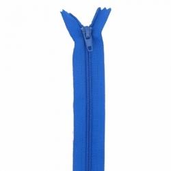 Fermeture 18cm bleu roy