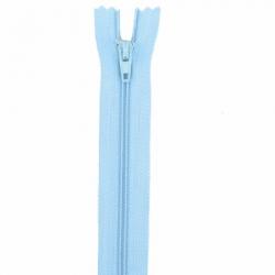 Fermeture 20cm bleu ciel