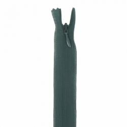 fermeture invisible 22 cm vert bouteil