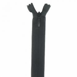 fermeture invisible 40 cm noir