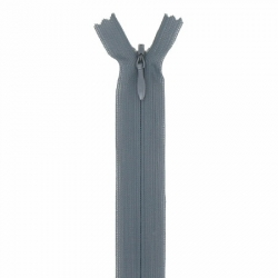 fermeture invisible 40 cm kaki
