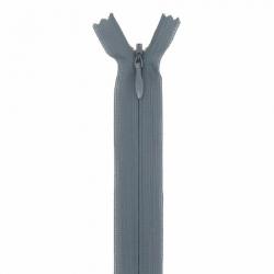 fermeture invisible 60 cm kaki