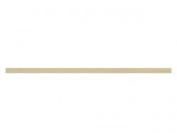 elastique rond 3 mm beige