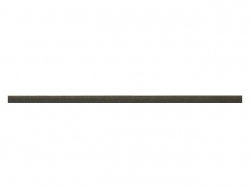 elastique rond 3 mm marron