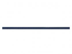 elastique rond 3 mm marine