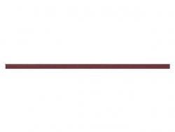 elastique rond 3 mm bordeau