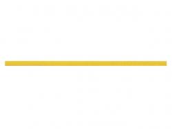 elastique rond 3 mm jaune