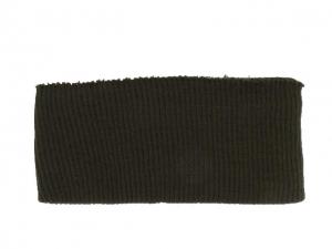 Bord côte ceinture marron