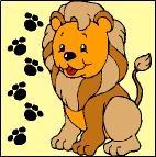 Canevas Lion