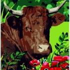 Canevas  Vache