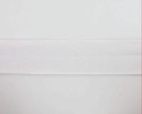 Biais textiles 40 mm blanc