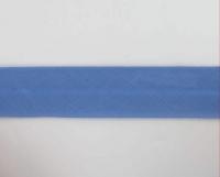 Biais textiles 40 mm bleu jeans