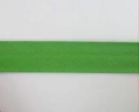 Biais textiles 40 mm vert herbe