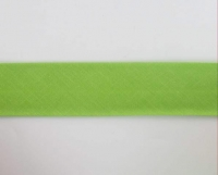 Biais textiles 40 mm vert pomme