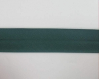 Biais textiles 40 mm vert sapin