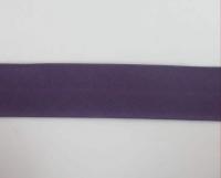 Biais textiles 40 mm mauve