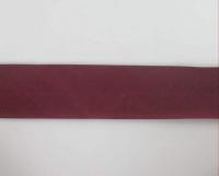 Biais textiles 40 mm framboise