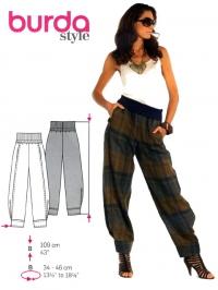 patron couture pantalon grande taille