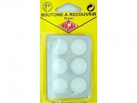 bouton à recouvrir plastique en 18 mm