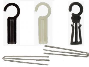 anneaux crochets pour rideaux poign e fenetre porcelaine. Black Bedroom Furniture Sets. Home Design Ideas