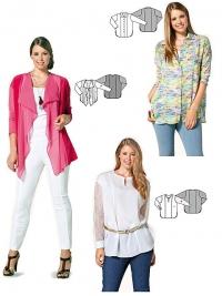Patron blouse & veste