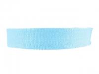 Sangle Coton 23mm bleu turquoise