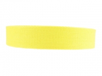 Sangle Coton 23mm jaune