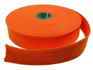 Sangle Coton 30mm orange