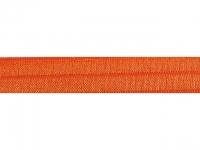 Biais élastique pré plié 15mm Orange