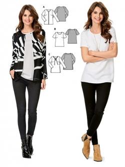 Patron veste & T-Shirt 6610