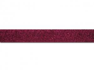 Ruban velours métallisé 15 mm rose fushia