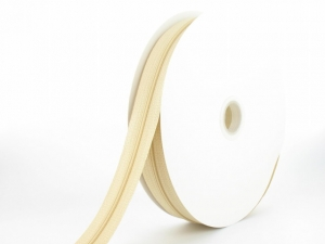 Fermeture au mètre N°3 + 20 curseurs ivoire