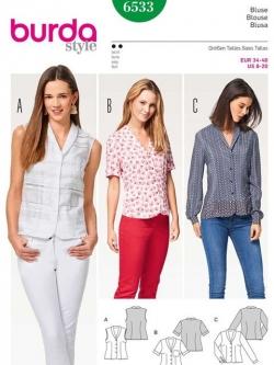 Patron blouse 6533