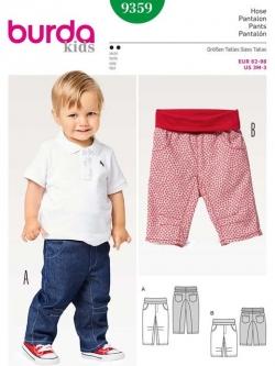 Patron pantalon 9359