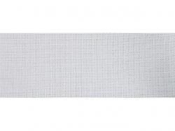 Toile Aïda au mètre 80mm blanc