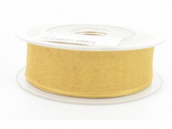 Ruban organdi 25mm gold