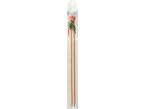 Aiguilles à tricoter en bambou 33 cm
