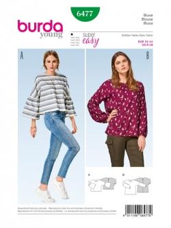 Patron blouse 6477