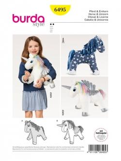 Patron cheval & licorne 6495