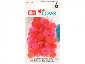 Boutons pression color snaps Prym Love