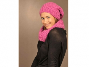 JOYFULL : Bonnet et snood