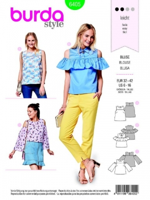 Patron blouse 6405