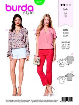 Patron blouse 6425