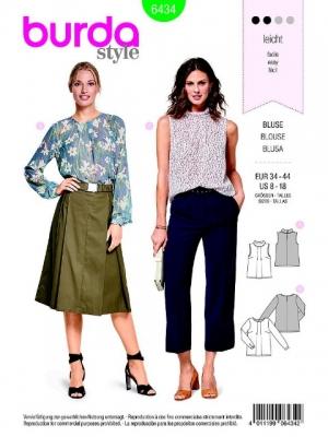 Patron blouse 6434
