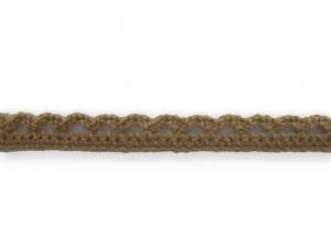 Dentelle coton 10 mm Beige