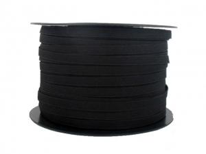 Élastique souple noir