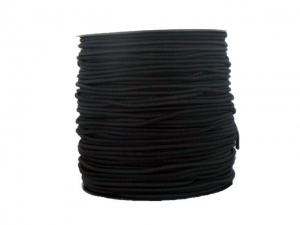 Élastique rond noir